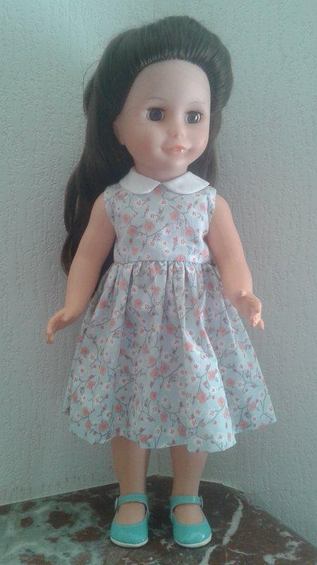 La nouvelle robe d'Elisabeth