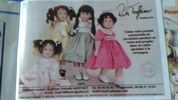 Les poupées de Ruth Treffeisen !