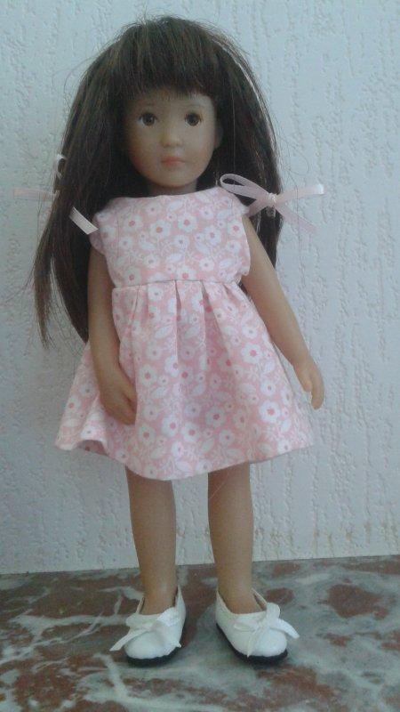 Finchen et sa nouvelle robe !