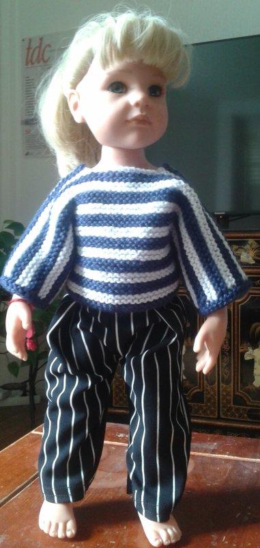 Les habits d'Emilie !