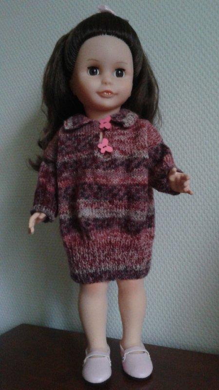 Une nouvelle robe en laine !