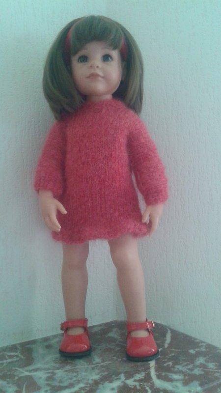 Une robe en laine pour Emily de Götz