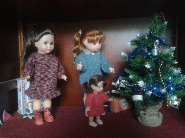 Les filles préparent Noël !