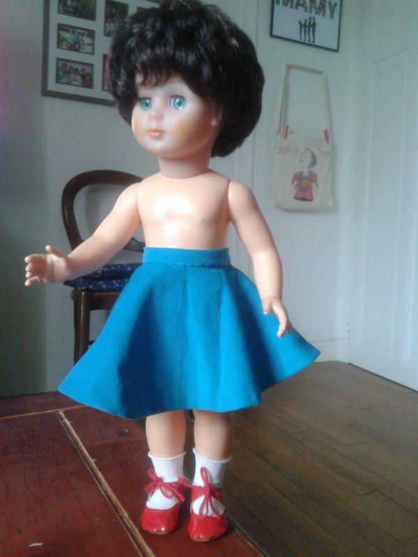 Nouvelle tenue pour Clothilde !