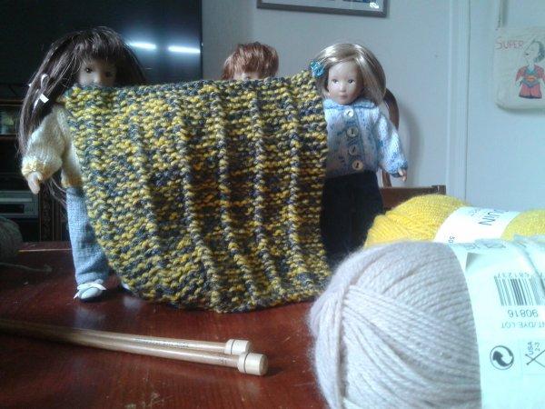Les couvertures en laine !