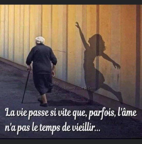 C'est vrai que la vie passe vite ..............