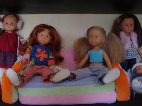 Les poupées les plus gâtées ............