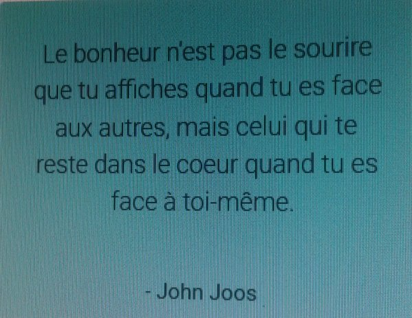 La citation du jour !