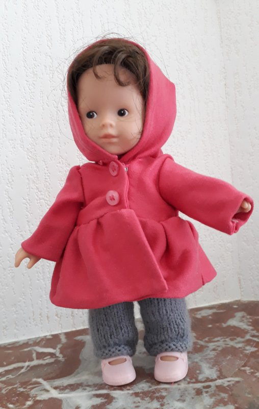 Le manteau de Lucie !