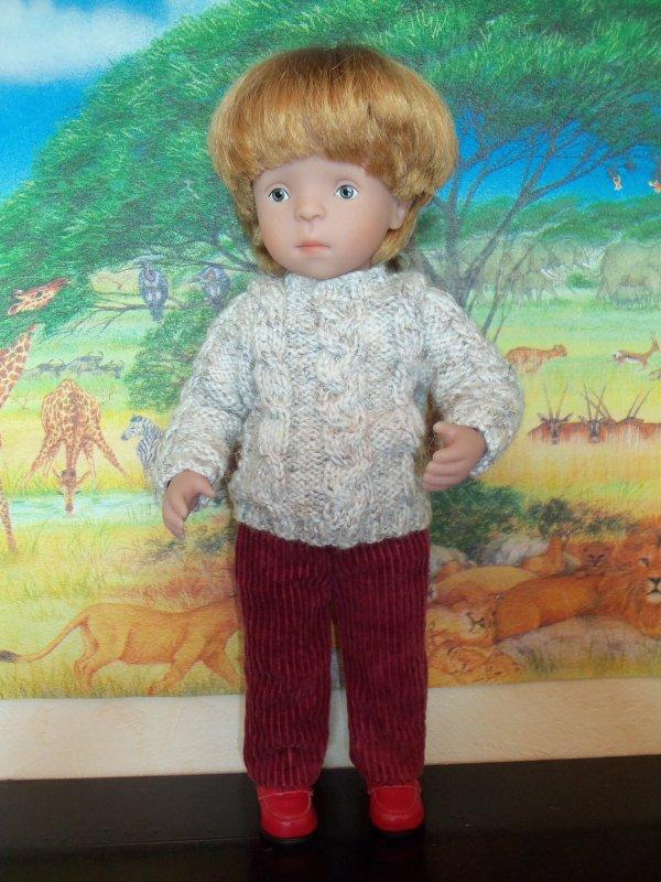 Encore un nouveau pull pour Jeannot !