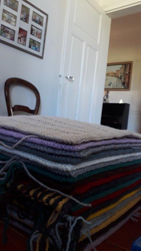 Encore une couverture en laine !