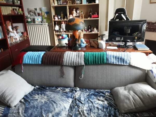 Les couvertures !
