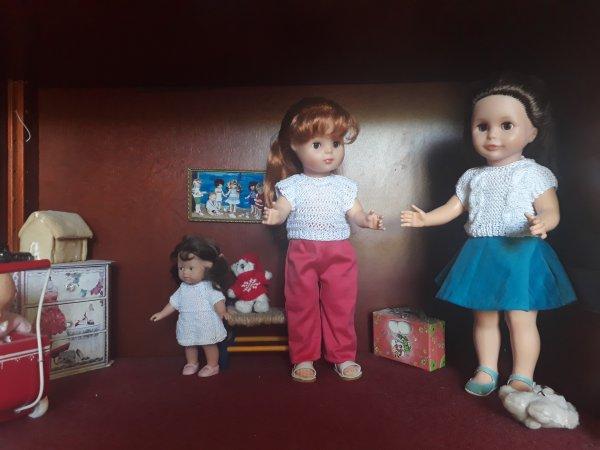Nouvel ensemble pour Elisabeth et Louise