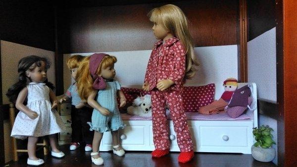 Les pyjamas !