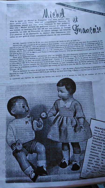 La tenue d'Octobre 1958 !