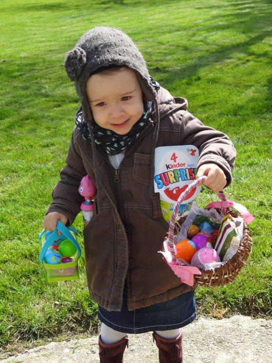 Mon petit poussin à Pâques !