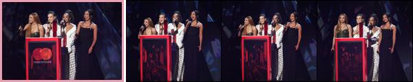 """. """"21.02.18"""" '─' Perrie s'est rendue à la cérémonie des « Brit Awards » qui se déroulait dans la ville de Londres  Alors que le reste du groupe s'est présenté avec leurs petits-amis respectifs, Perrie était seule car Alex était toujours dans l'avion pour revenir à Londres ! """""""