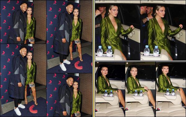 '- '-•-20/02/19- : Perrie a été photographiée à l'after-party des « Brit Awards » qui se déroulait au Aqua Shard ! Après la cérémonie, c'est en compagnie de son petit-ami Alex Oxlade-Chamberlain que Perrie s'est rendue à l'after-party. Un superbe top. -
