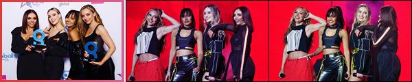'- '-•-20/02/19- : Les Little Mix se sont rendues à la cérémonie des « Global Awards » qui se déroulait à Londres. Les filles ont interprétées  « Woman Like Me » ainsi que « Think About Us » tout en gagnant plusieurs awards ! Je suis super fière d'elles ! -
