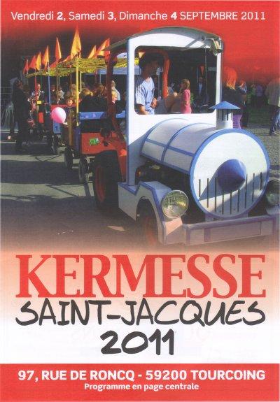 2,3 ET 4 SEPTEMBRE 2011 KERMESSE ST JACQUES