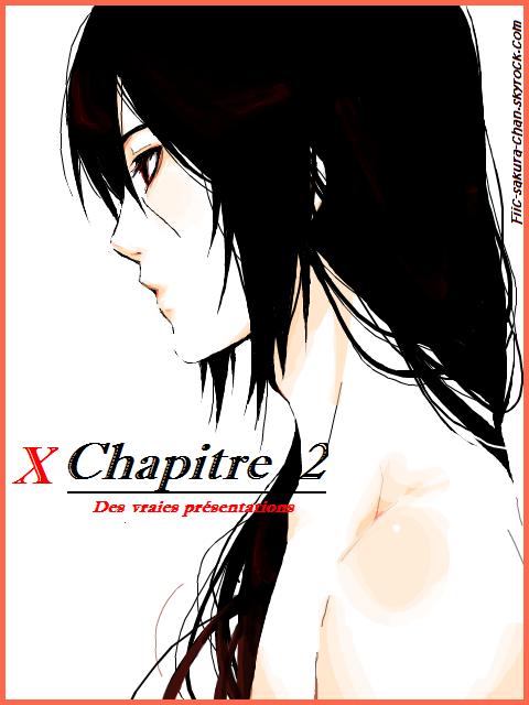 x Chapitre 2 : Des vraies présentations