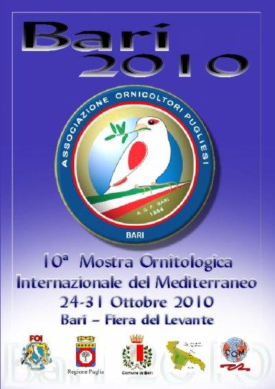 10° MOSTRA ORNITOLOGICA INTERNAZIONALE DEL MEDITERRANEO