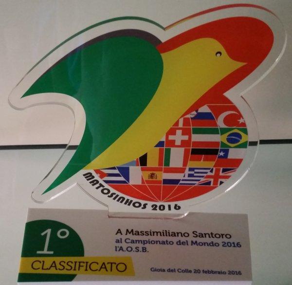 CAMPIONATO MONDIALE MATOSINHOS '16