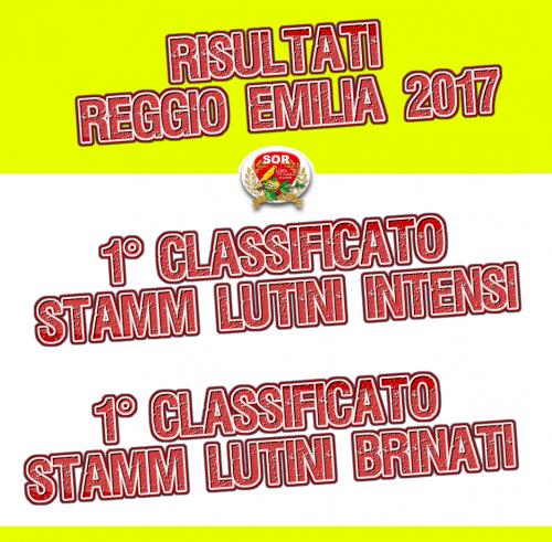 RISULTATI - 78^ INTERNAZIONALE REGGIO EMILIA