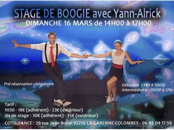 Stage de Boogie à La Garenne Colombes