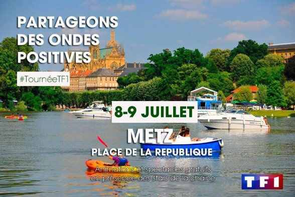 Tournée de l'été à Metz