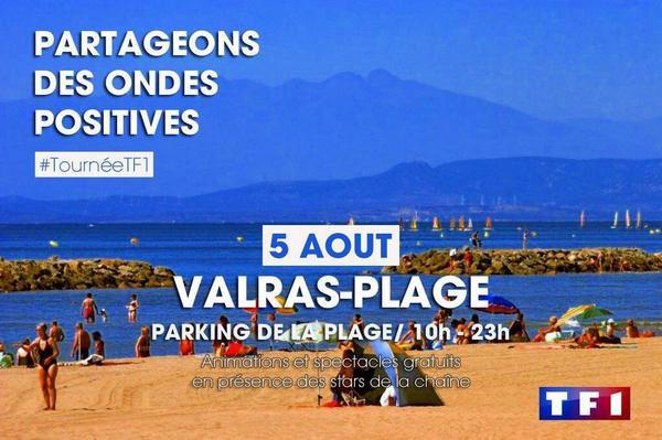 Tournée de l'été à Valras-plage
