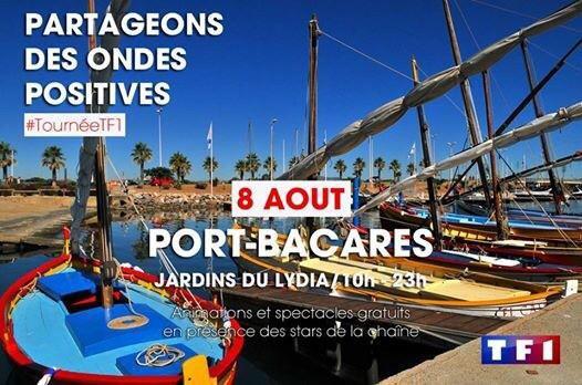 Tournée de l'été à Port-Barcarès