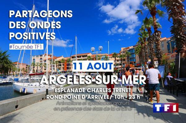 Tournée de l'été à Argelès-sur-mer
