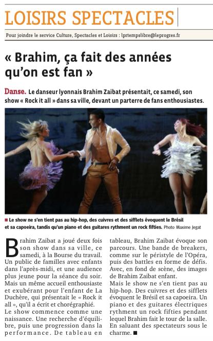 """Tournée """"Rock it all"""" à Lyon"""