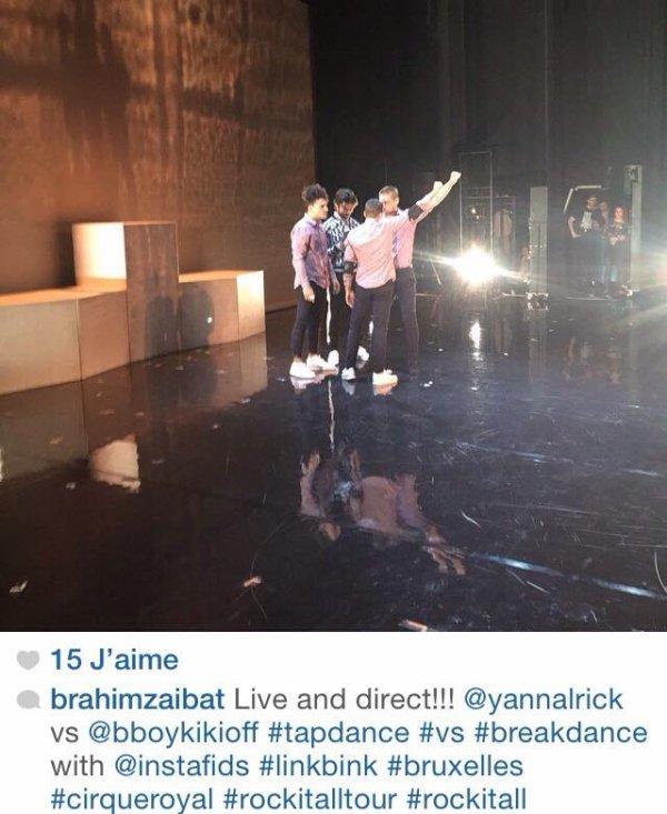 """Tournée """"Rock it all"""" à Bruxelles"""