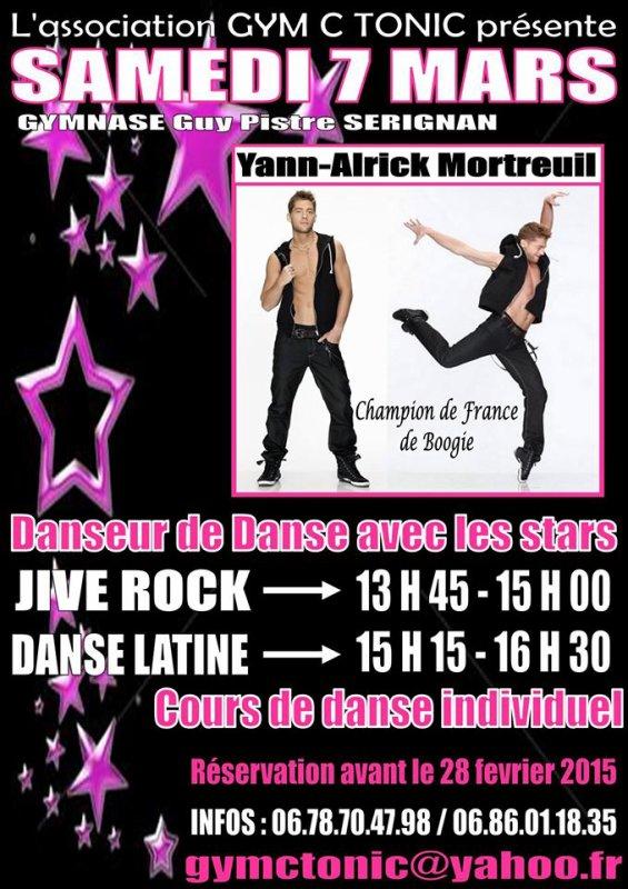 Stage de danse à Sérignan