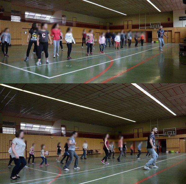 Stage de danse swing à Savigny