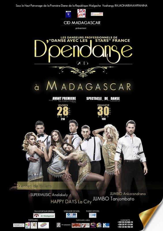 D'pendanse à Madagascar