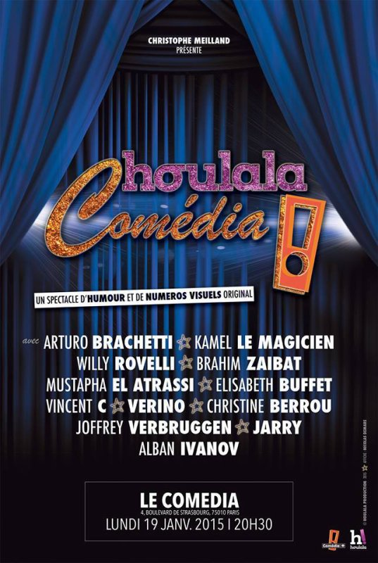 "Gala ""Houlala comedia"" avec la troupe Rock it all"