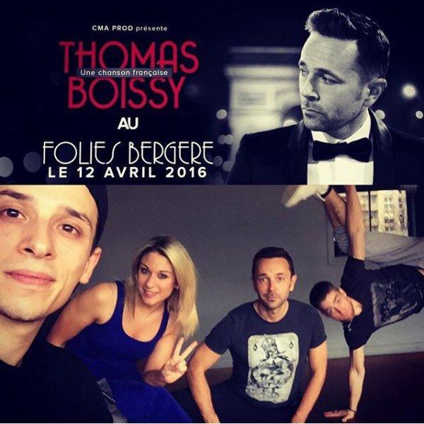 Show aux Folies Bergères avec Thomas Boissy