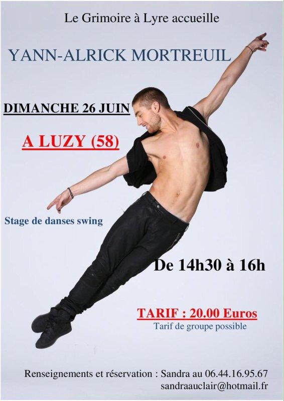 Stage de danse à Luzy