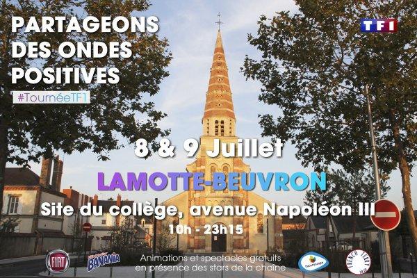 Tournée d'été TF1 à Lamotte-Beuvron