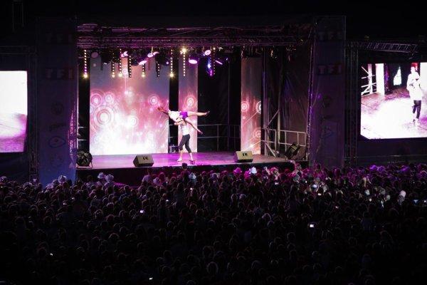 Tournée d'été TF1 à Valras Plage