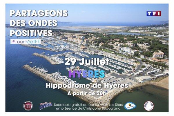 Tournée d'été TF1 à Hyères