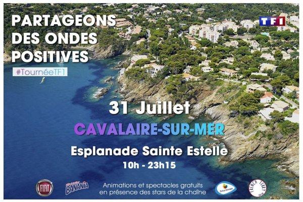 Tournée d'été TF1 à Cavalaire-sur-Mer
