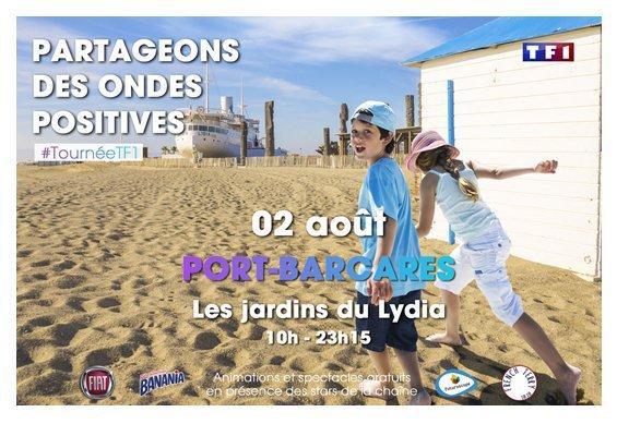 Tournée d'été TF1 à Port Barcares