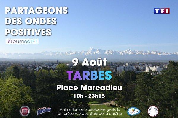 Tournée d'été TF1 à Tarbes