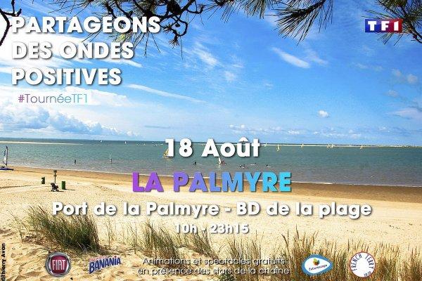 Tournée d'été TF1 à La Palmyre