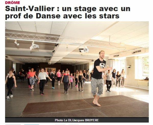 Stage de danse à Saint-Vallier
