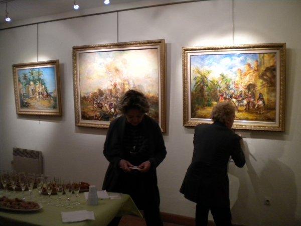 Jean Jacques Lafon expose ses peintures
